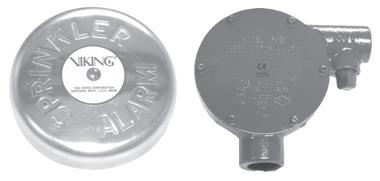 Viking Water Motor Alarms