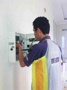 Commissioning Test Fire Alarm System Puri Ayodya