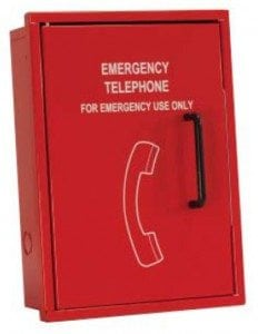 Emergency Telephone Cabinet