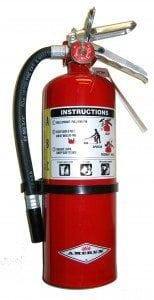 Alat pemadam kebakaran liquid Gas