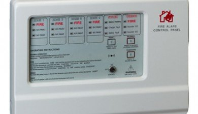 Hong Chang Fire Alarm Control Panel 4 ZONE