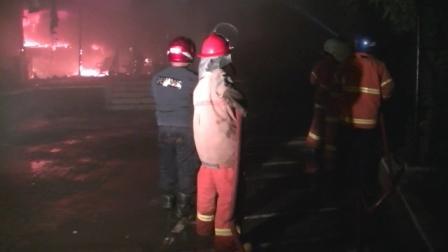 Kebakaran Kantor BRI Cabang Kota Kendal