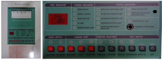 Hong Chang Fire Alarm Multifungtion Feature