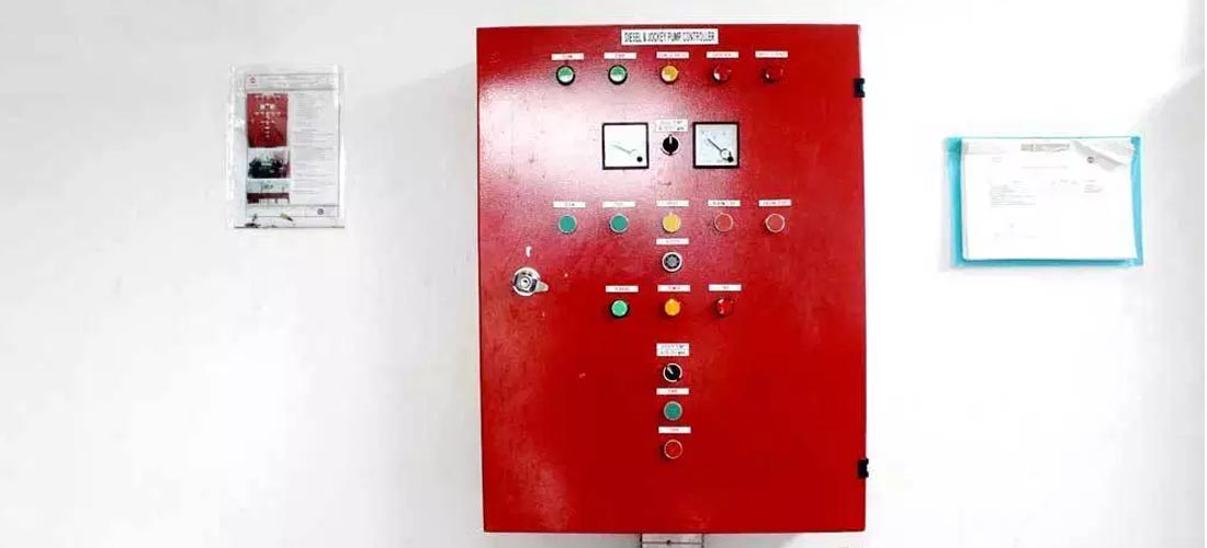Instalasi Ruang Pompa Hydrant - Panel Control